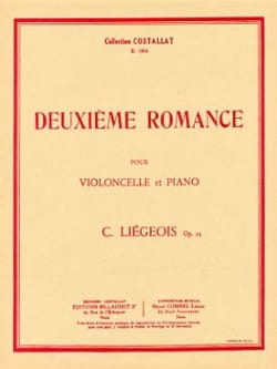 Cornélis Liegeois - Segundo romance op. 25 n ° 8 - Partitura - di-arezzo.es