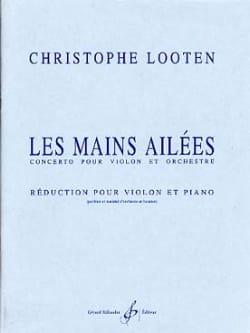 Les mains ailées - Christophe Looten - Partition - laflutedepan.com
