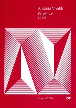 Antonio Vivaldi - Gloria D-Dur RV 589 – Partitur - Partition - di-arezzo.fr
