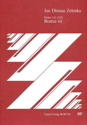 Jan Dismas Zelenka - Beatus Vir - Sheet Music - di-arezzo.co.uk