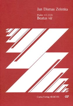 Jan D Zelenka - Beatus vir G-Dur - Sheet Music - di-arezzo.co.uk