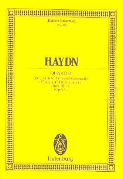 Streich-Quartett C-Dur op. 9 n° 1 - HAYDN - laflutedepan.com