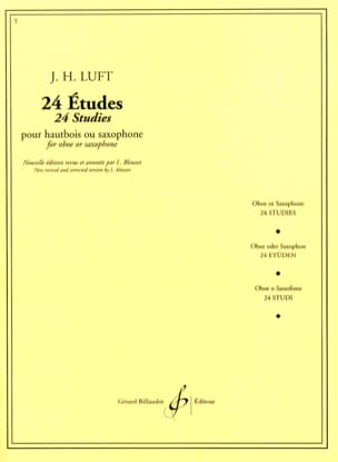 Julius Heinrich Luft - 24 Studies - Sheet Music - di-arezzo.co.uk