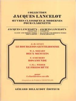 Bourgeois Gentilhomme / 2 Menuets / Rosamunde / Freischütz - laflutedepan.com