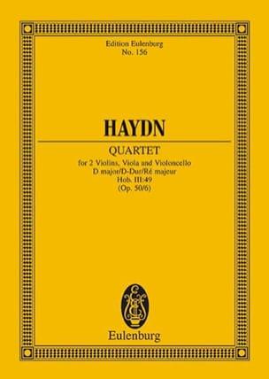 Streich-Quartett D-Dur op. 50 n° 6 - Joseph Haydn - laflutedepan.com