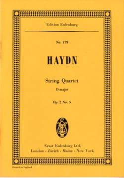 Joseph Haydn - Streich-Quartett D-Dur op. 2 n° 5 - Partition - di-arezzo.fr