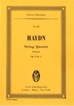 Streich-Quartett d-moll op. 9 n° 4 - HAYDN - laflutedepan.com