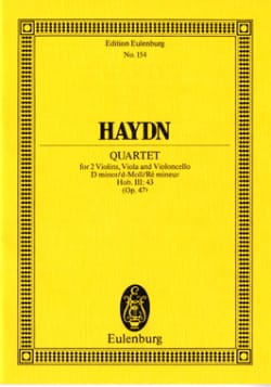 HAYDN - Streich-Quartett d-moll op. 42 - Sheet Music - di-arezzo.co.uk
