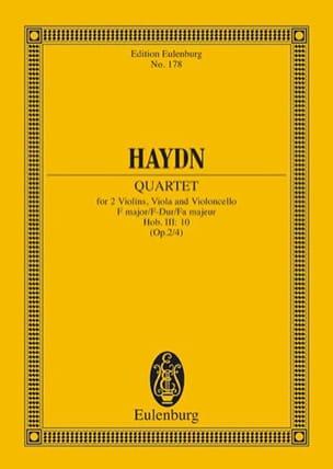 Streich-Quartett E-Dur op. 2 n° 4 - Joseph Haydn - laflutedepan.com