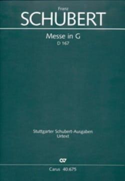 SCHUBERT - Mass in G-Dur D. 167 Klosterneuburg - Partitur - Sheet Music - di-arezzo.com