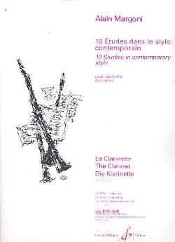 Alain Margoni - 10 Studies in contemporary style - Sheet Music - di-arezzo.co.uk