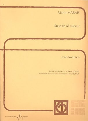 Marin Marais - Suite in D minor - Alto - Sheet Music - di-arezzo.com