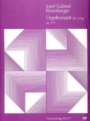Joseph G von Rheinberger - Orgelkonzert N ° 2 Op. 177 In G Minor - Sheet Music - di-arezzo.co.uk