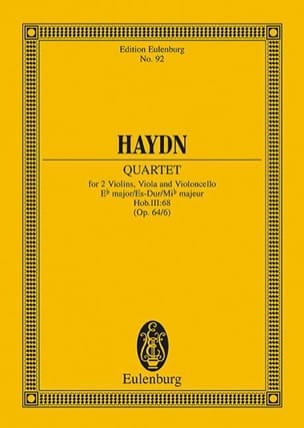 Streich-Quartett Es-Dur op. 64 n° 6 - Joseph Haydn - laflutedepan.com