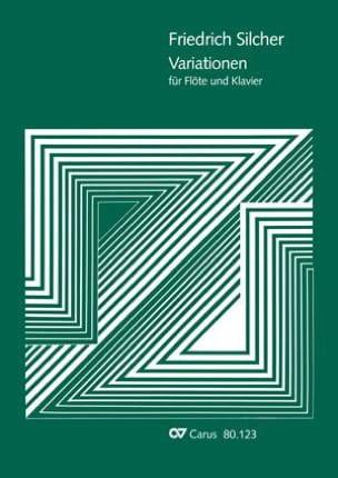Friedrich Silcher - Variationen Nel Cor Piu - Partition - di-arezzo.fr