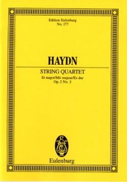 Joseph Haydn - Streich-Quartett Es-Dur op. 2 n° 3 - Partition - di-arezzo.fr