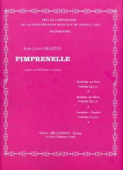 Pimprenelle Jean-Louis Martin Partition Contrebasse - laflutedepan