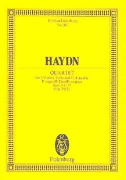 Streich-Quartett F-Dur op. 74 n° 2 - Joseph Haydn - laflutedepan.com