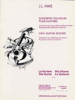 Sonorités Nouvelles pour Guitares - Jean-Luc Mas - laflutedepan.com
