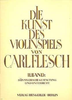 Carl Flesch - Die Kunst des Violinspiels – Bd. 2 - Partition - di-arezzo.fr