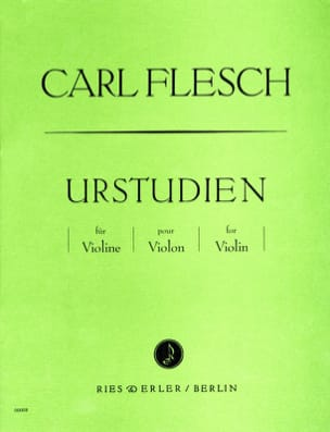 Carl Flesch - Urstudien für Violine - Sheet Music - di-arezzo.co.uk