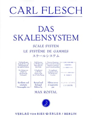 Carl Flesch - The Range System - Violin - Sheet Music - di-arezzo.com
