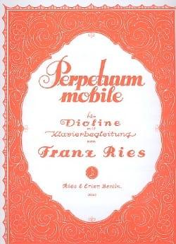 Franz Ries - Perpetuum Mobile op. 34 n ° 5 - Partitura - di-arezzo.es