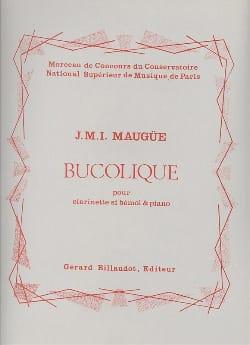 Bucolique - Maugüe - Partition - Clarinette - laflutedepan.com
