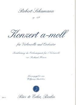 SCHUMANN - Concerto in Opus Minor 129 - Sheet Music - di-arezzo.co.uk