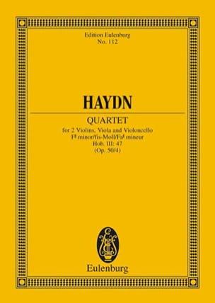 HAYDN - Streich-Quartett fis-moll op. 50 n ° 4 - Sheet Music - di-arezzo.co.uk