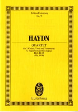 Joseph Haydn - Streich-Quartett G-Dur op. 64 n° 4 - Partition - di-arezzo.fr
