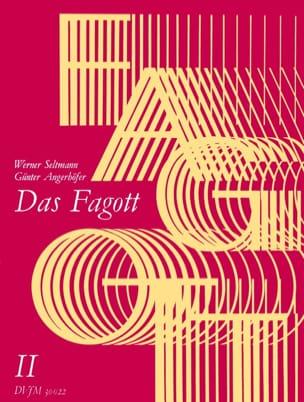 Das Fagott, Bd 2 Seltmann Werner / Angerhöfer Günter laflutedepan