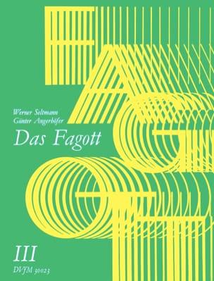 Seltmann Werner / Angerhöfer Günter - Das Fagott - Bd. 3 - Partitura - di-arezzo.es