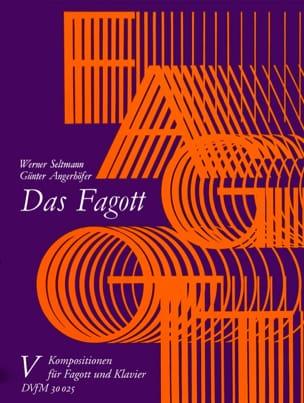 Seltmann Werner / Angerhöfer Günter - Das Fagott - Bd. 5 : Fagott Klavier - Partition - di-arezzo.fr