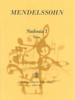 Sinfonia Nr. 1 C-Dur - Partitur - MENDELSSOHN - laflutedepan.com