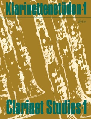 Klarinettenetüden Volume 1 Rudi Reski Partition laflutedepan