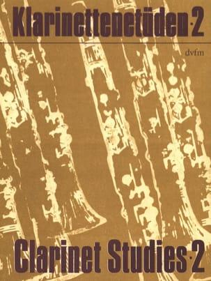 Rudi Reski - Klarinettenetüden - Bd. 2 - Partition - di-arezzo.fr