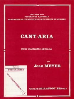 Jean Meyer - Cant-Aria - Partition - di-arezzo.fr