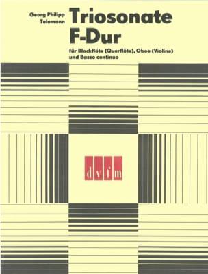 Triosonate F-Dur –Blockflöte Oboe Bc - laflutedepan.com