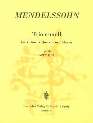 MENDELSSOHN - Klaviertrio c-moll op. 66 - Partitura - di-arezzo.es