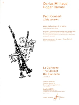 Darius Milhaud - Small Concert - Sheet Music - di-arezzo.com