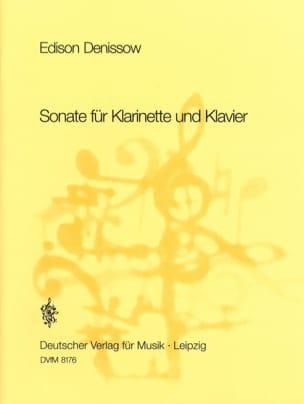 Sonate für Klarinette und Klavier - Edison Denisov - laflutedepan.com