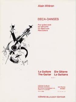 Deca-Danses - Alain Miteran - Partition - Guitare - laflutedepan.com