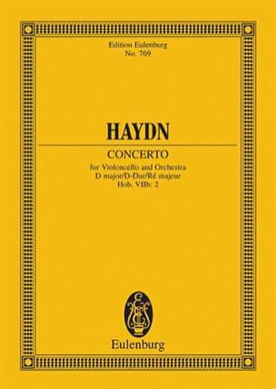 HAYDN - Violoncello-Konzert D-Dur, Op. 101 Hob. Viib:2 - Conducteur - Partition - di-arezzo.fr