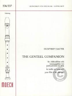 Humphrey Salter - The Gentel Companion - Sheet Music - di-arezzo.co.uk