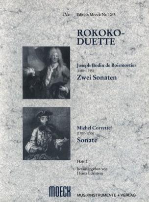 Boismortier Joseph Bodin de / Corrette Michel - Rokoko-Duette, Heft 2 - Partition - di-arezzo.fr