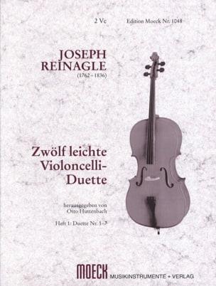 Joseph Reinagle - 12 leichte Violoncello-Duette, Heft 1 - Partitura - di-arezzo.es