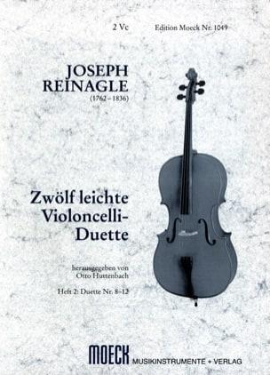 Joseph Reinagle - 12 leichte Violoncelli-Duette, Heft 2 - Sheet Music - di-arezzo.co.uk