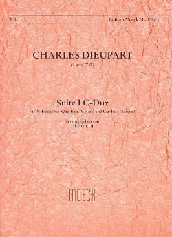 Charles François Dieupart - Suite I C-Dur - Flute A Beak Alto and BC - Sheet Music - di-arezzo.co.uk