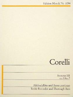 Sonata III g-Moll - Arcangelo Corelli - Partition - laflutedepan.com